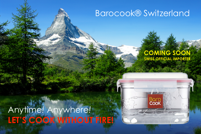 Barocook Switzerland!